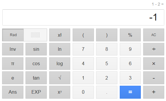 calculadora on line google